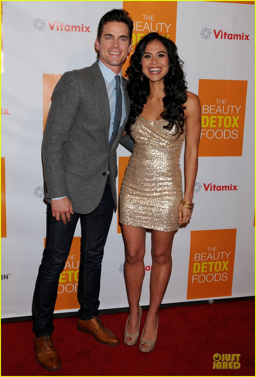 matt bomer dita von teese the beauty detox book launch party 01