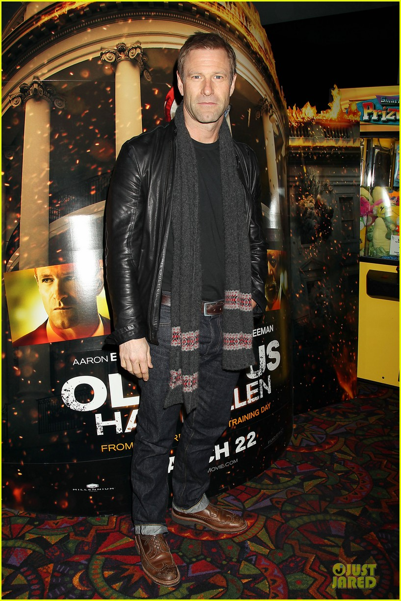 gerard butler olympus has fallen new york screening 05