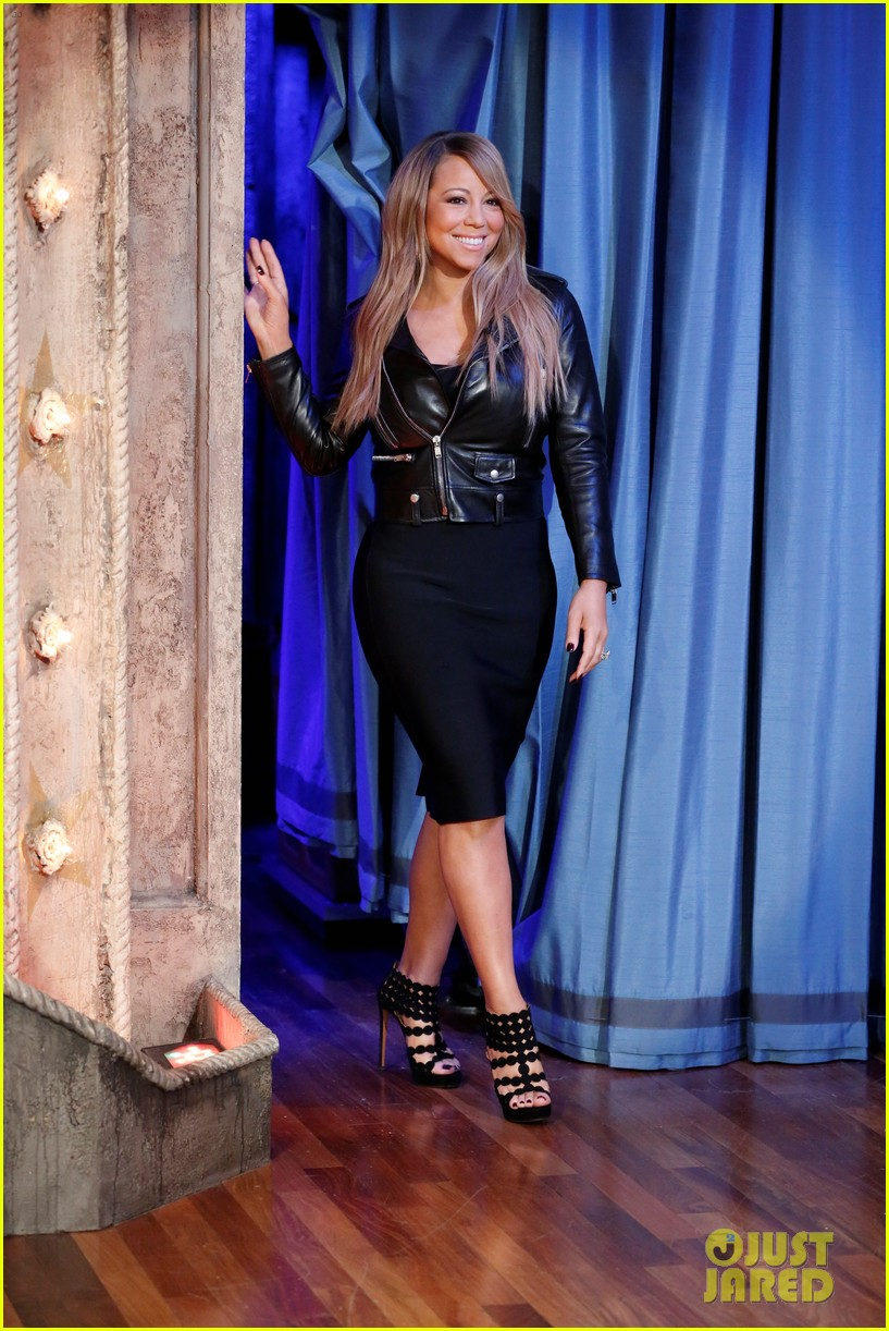 mariah carey fallon live with kelly michael visits 01