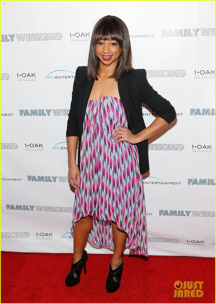 kristin chenoweth oleysa rulin family weekend premiere 05