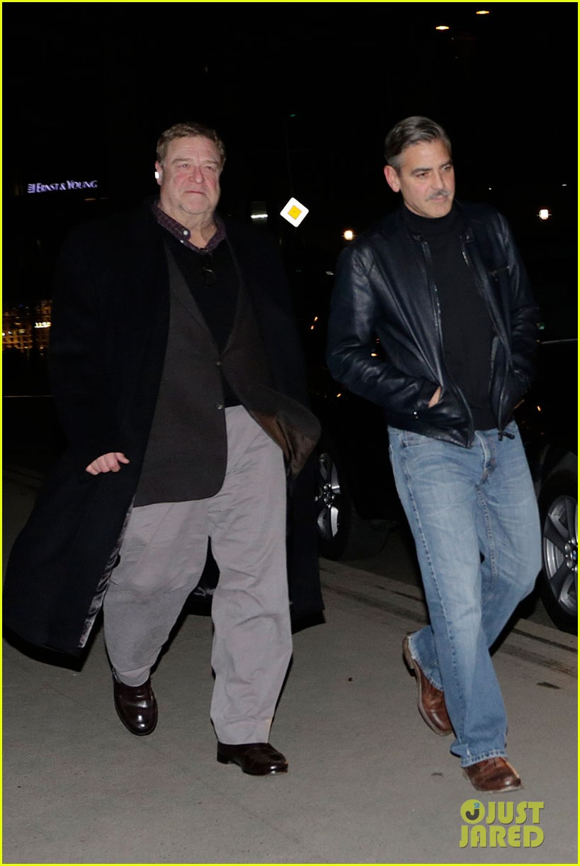 george clooney matt damon berlin buddies 012828913