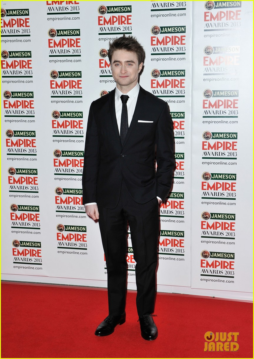daniel radcliffe sam claflin jameson empire awards 2013 012837081