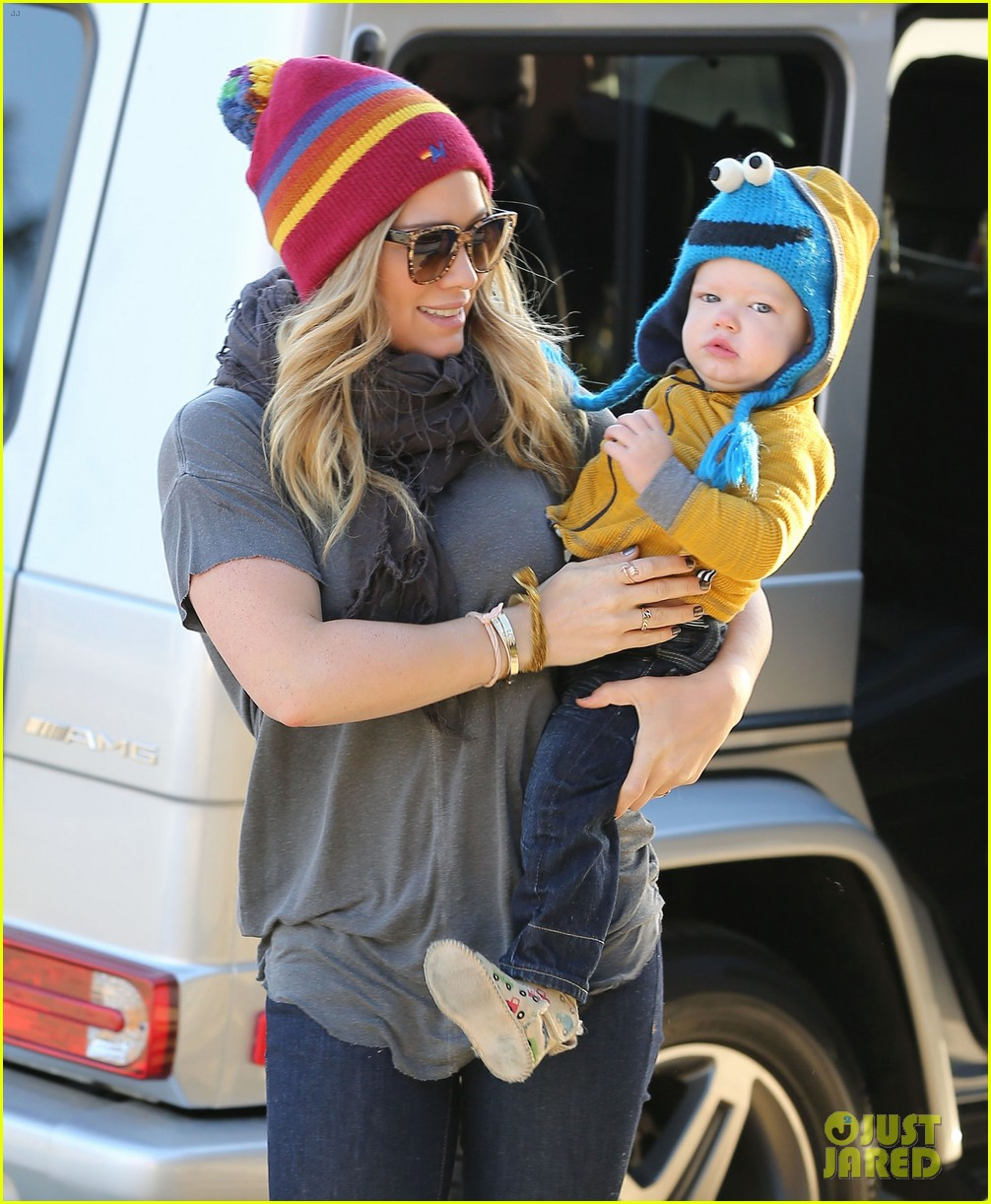 hilary duff family fun weekend with luca 01