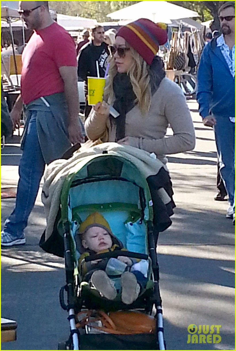 hilary duff family fun weekend with luca 17