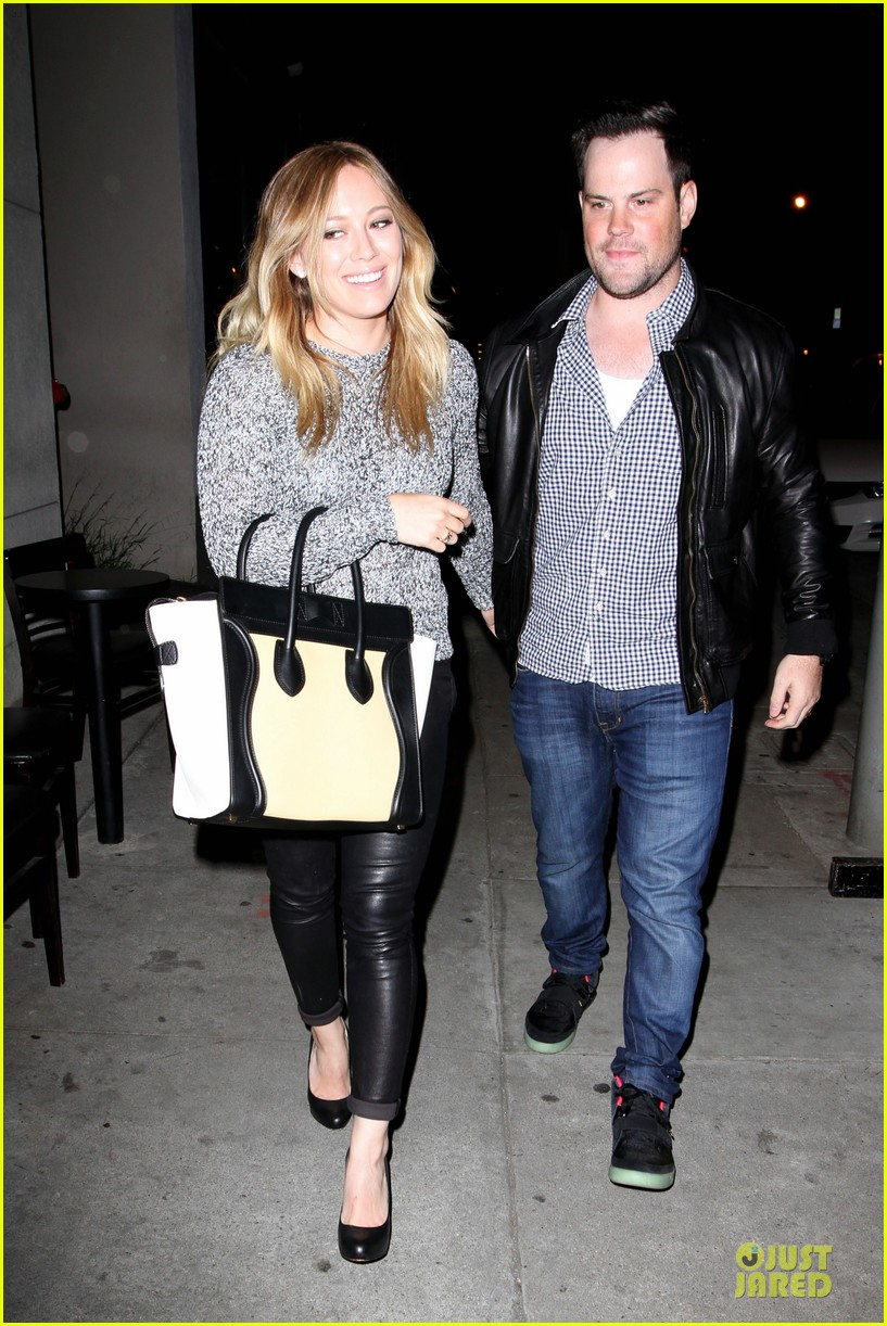 hilary duff daily grill lunch stop 292836080