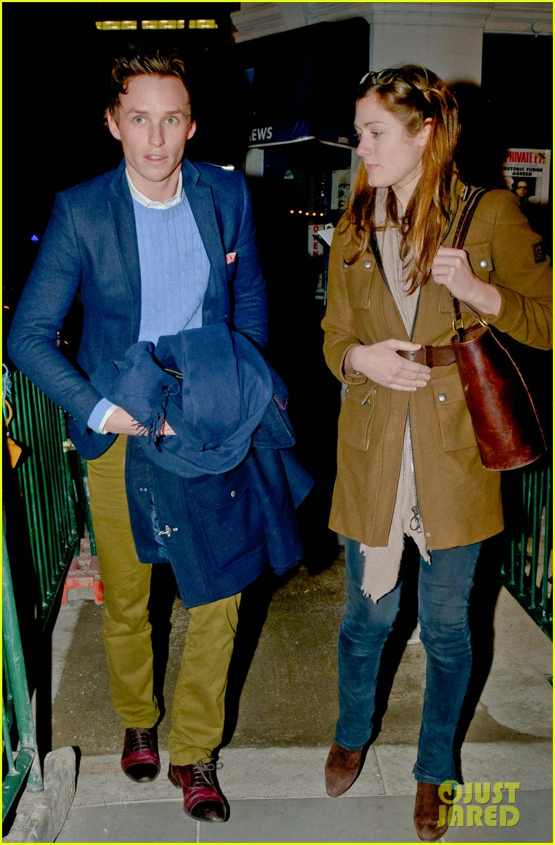 eddie redmayne peter alice press night after party 01