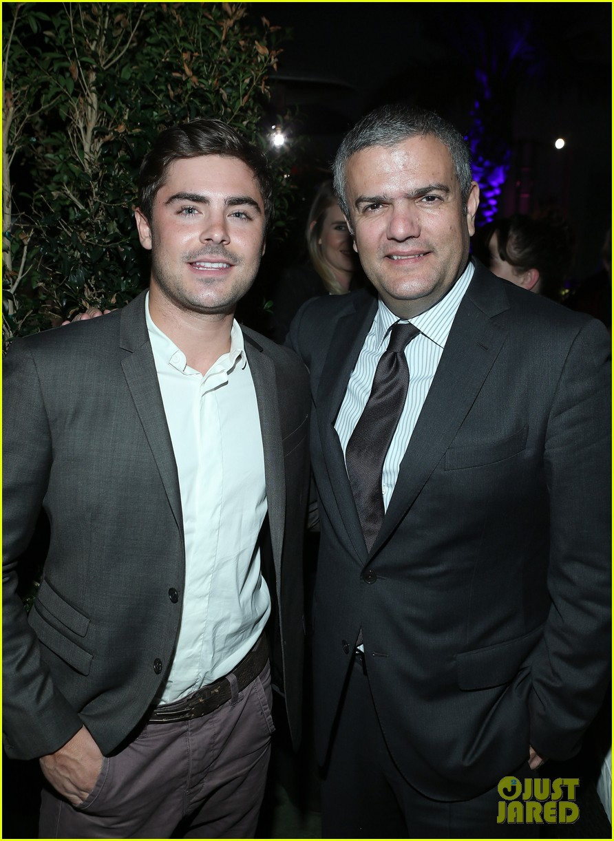 zac efron hublots new brand ambassador celebration 05