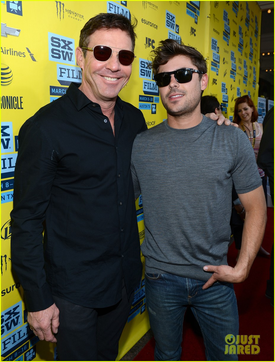 zac efron dennis quaid at any price sxsw premiere 062831791