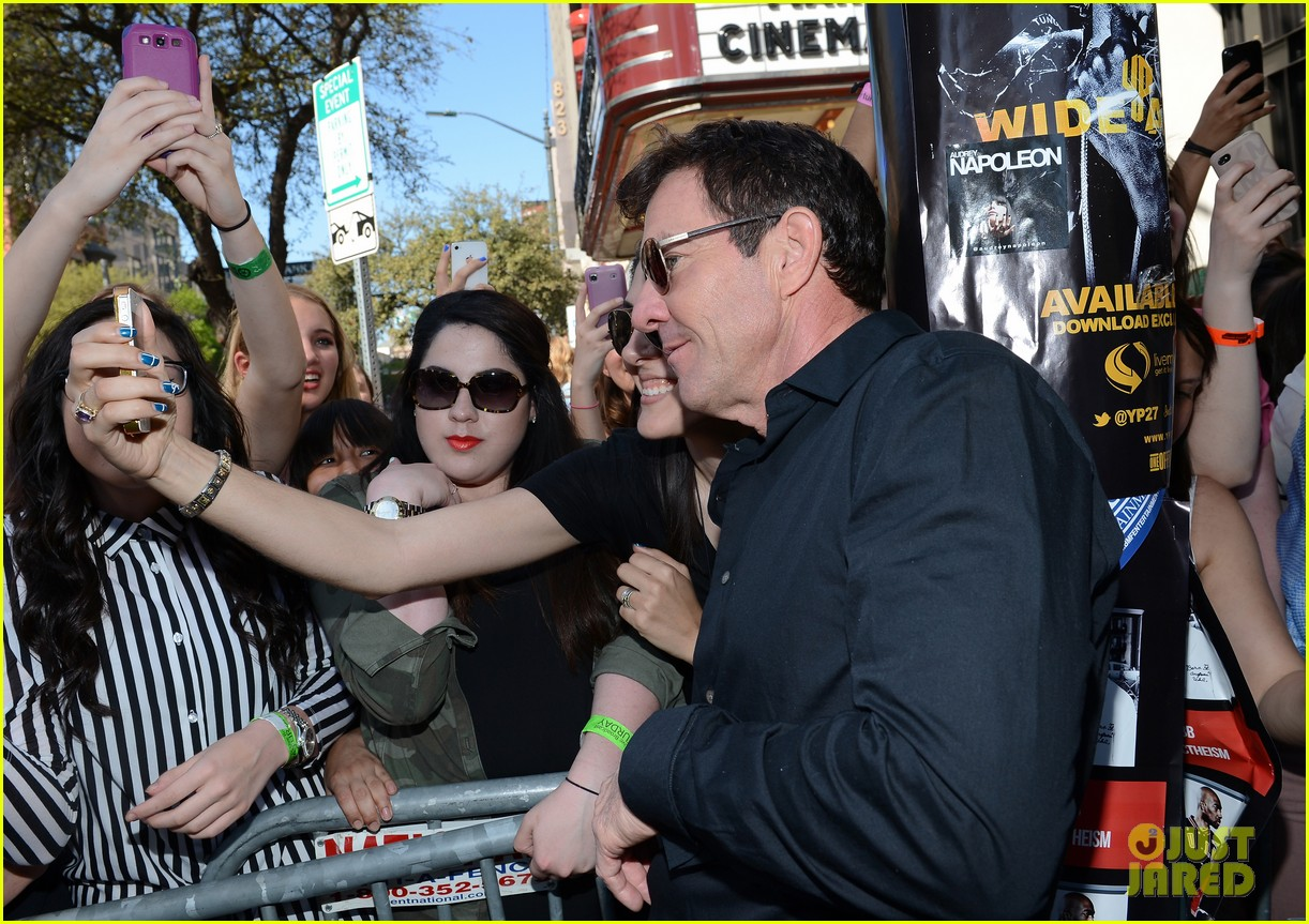zac efron dennis quaid at any price sxsw premiere 162831801