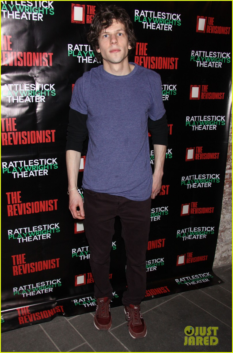 jesse eisenberg the revisionist opening night 01
