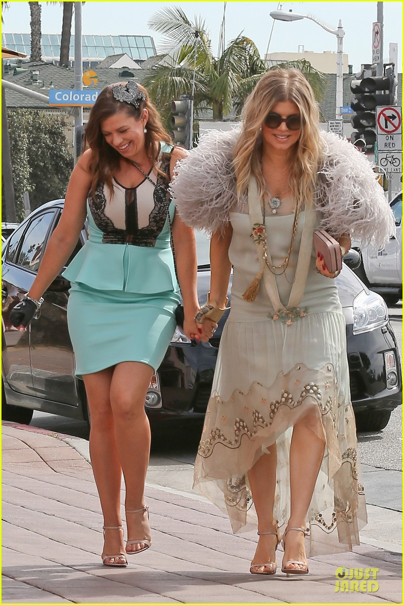 fergie bridal shower with sister dana 20