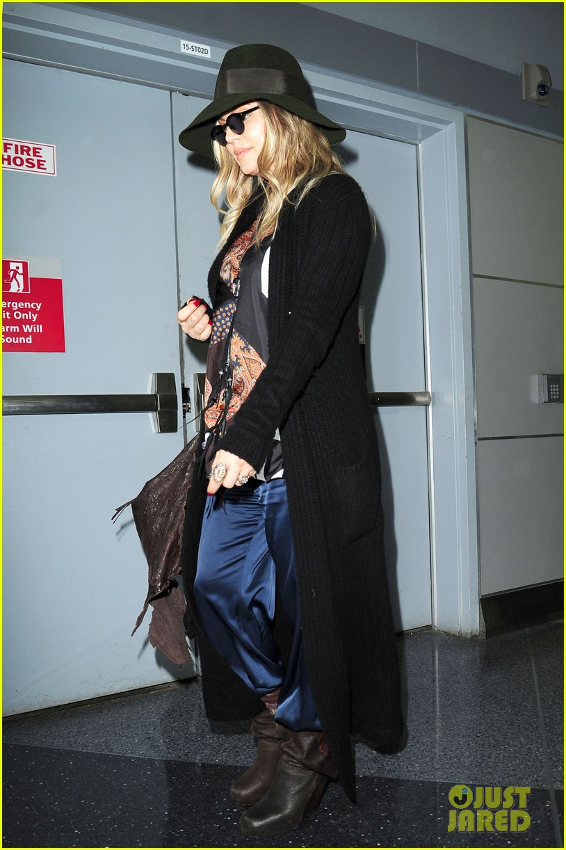 fergie nyc arrival for gma 01