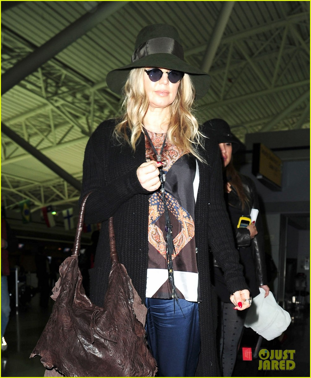 fergie nyc arrival for gma 02