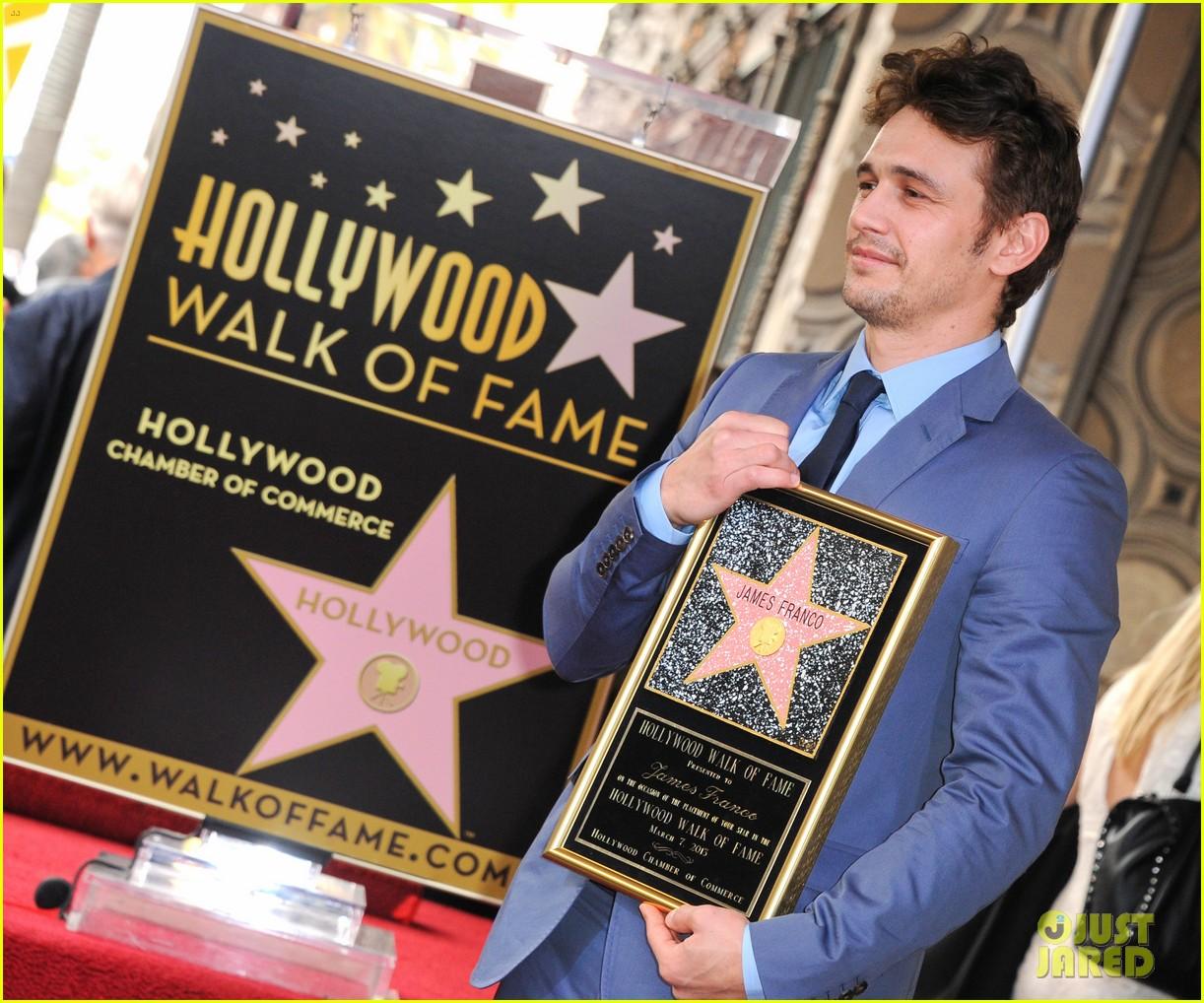 james franco hollywood walk of fame star ceremony 092826846