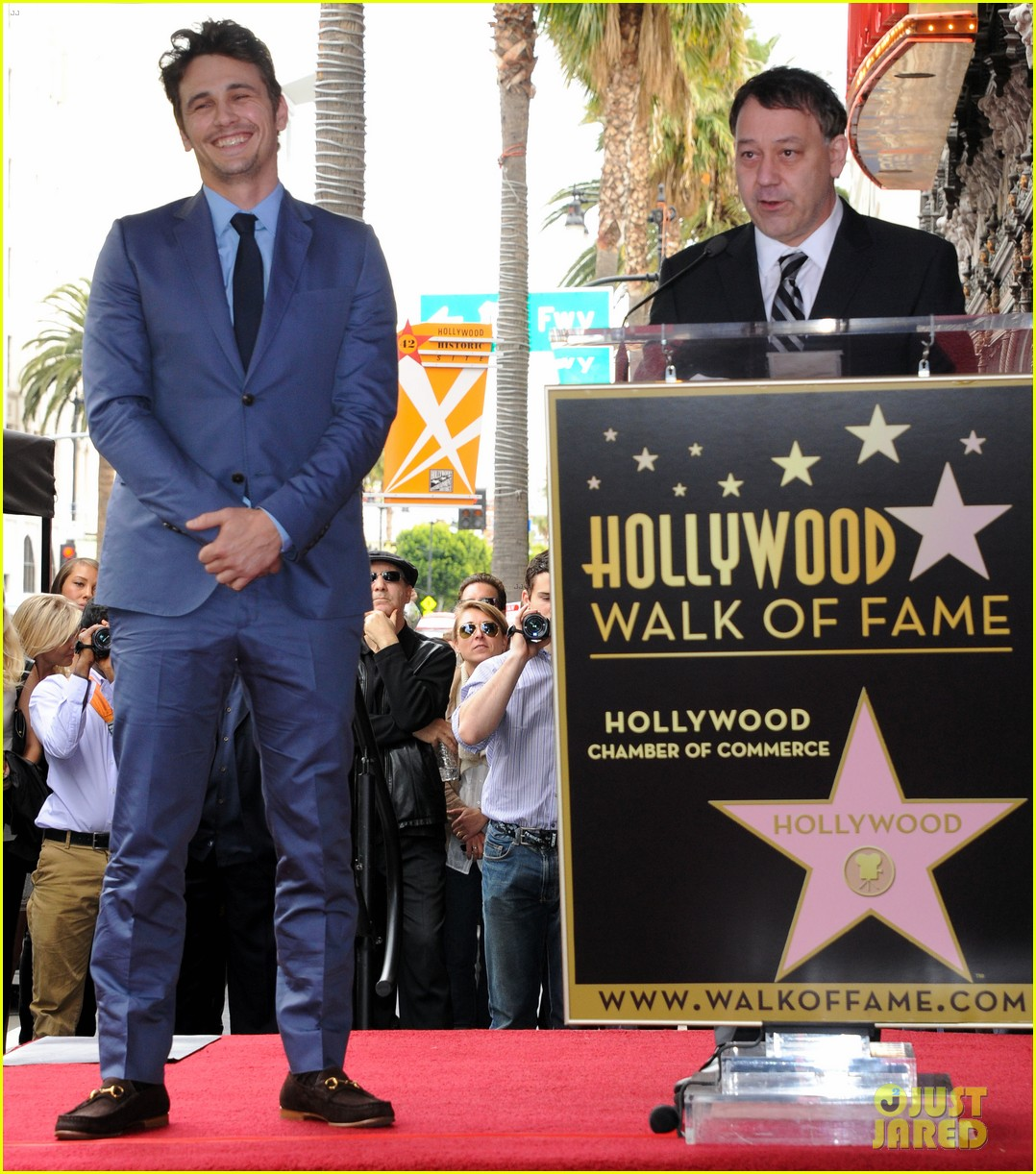 james franco hollywood walk of fame star ceremony 12