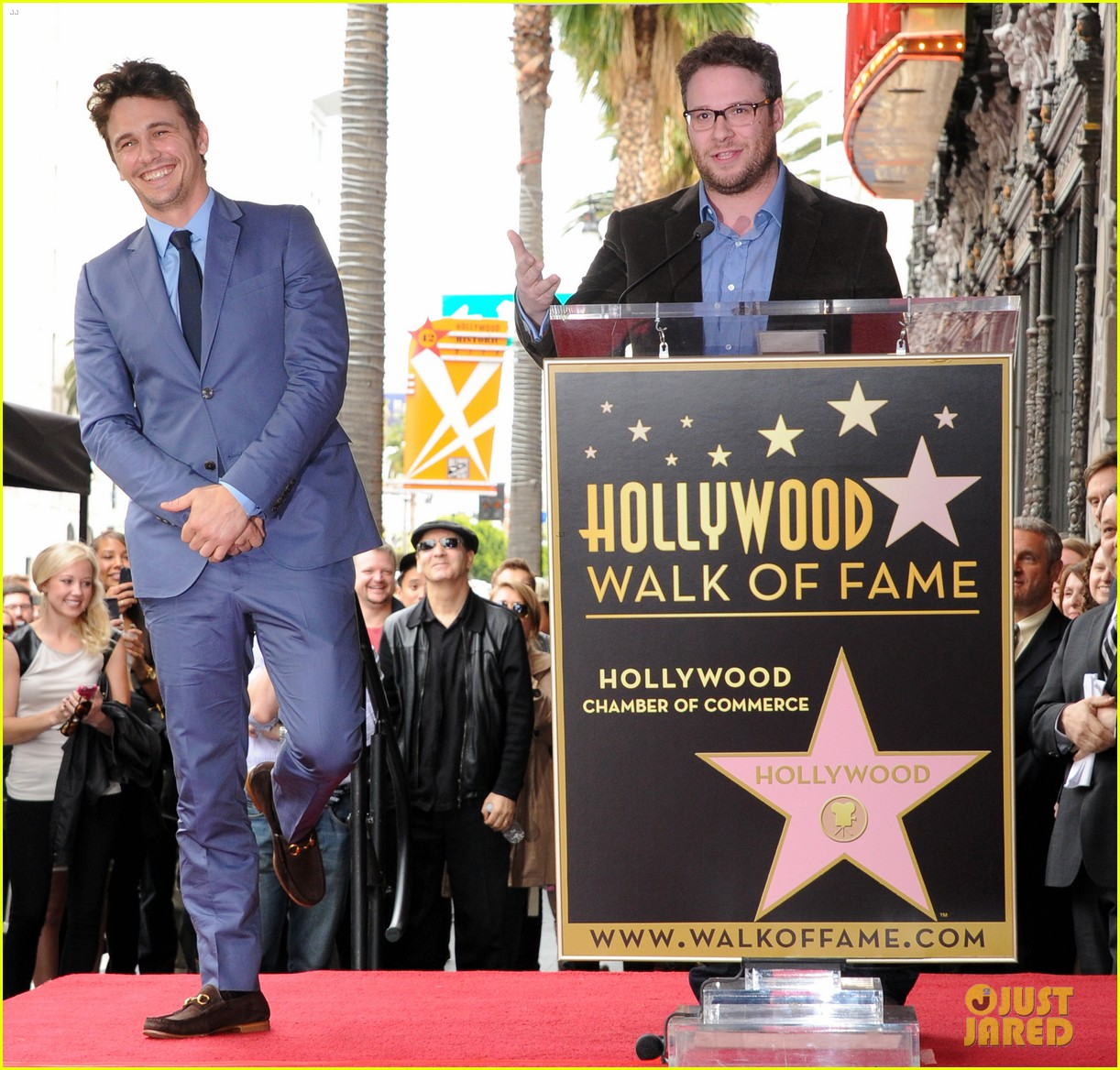 james franco hollywood walk of fame star ceremony 152826852