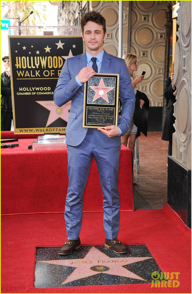 james franco hollywood walk of fame star ceremony 302826867