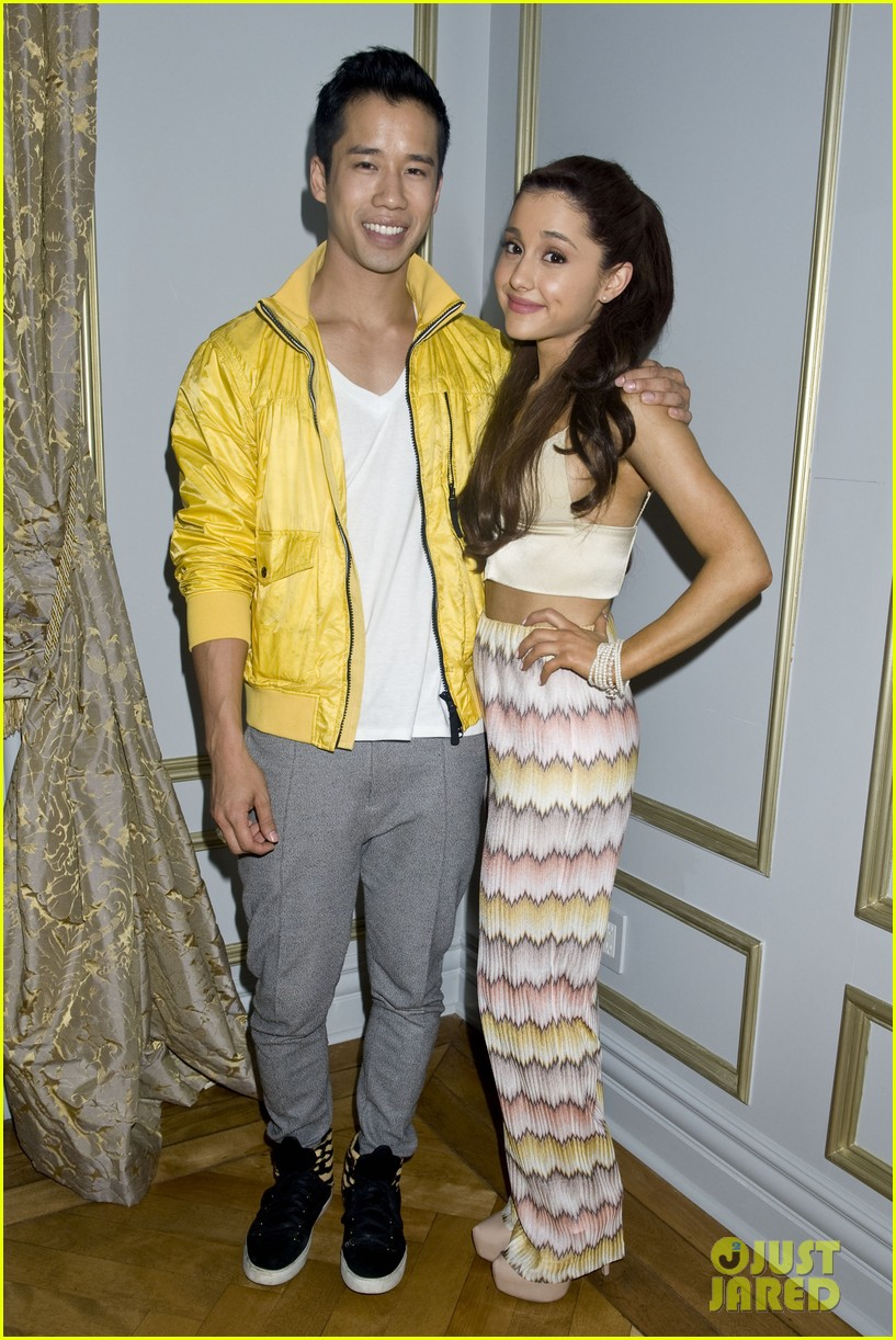 ariana grande justjared exclusive interview 032838133