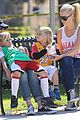 gwen stefani gavin rossdale family fun at the park 26
