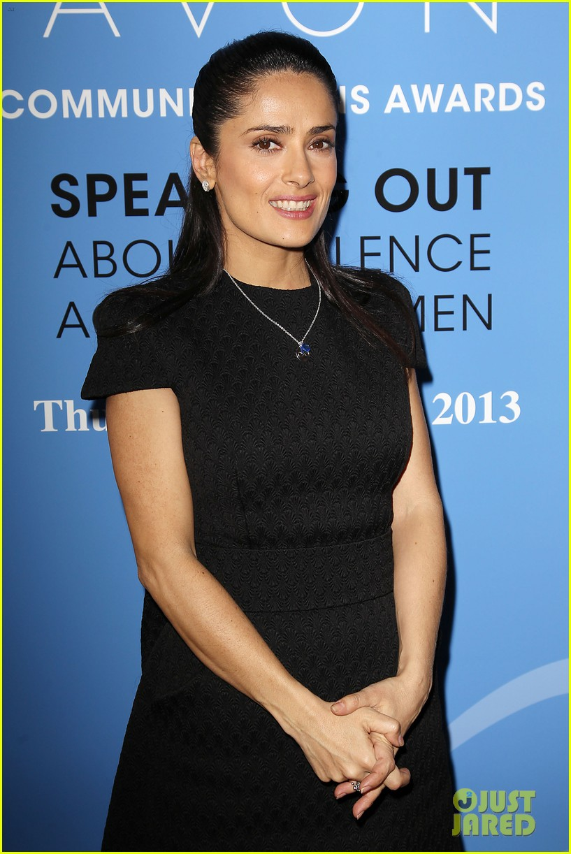 salma hayek avon communication awards 2013 10
