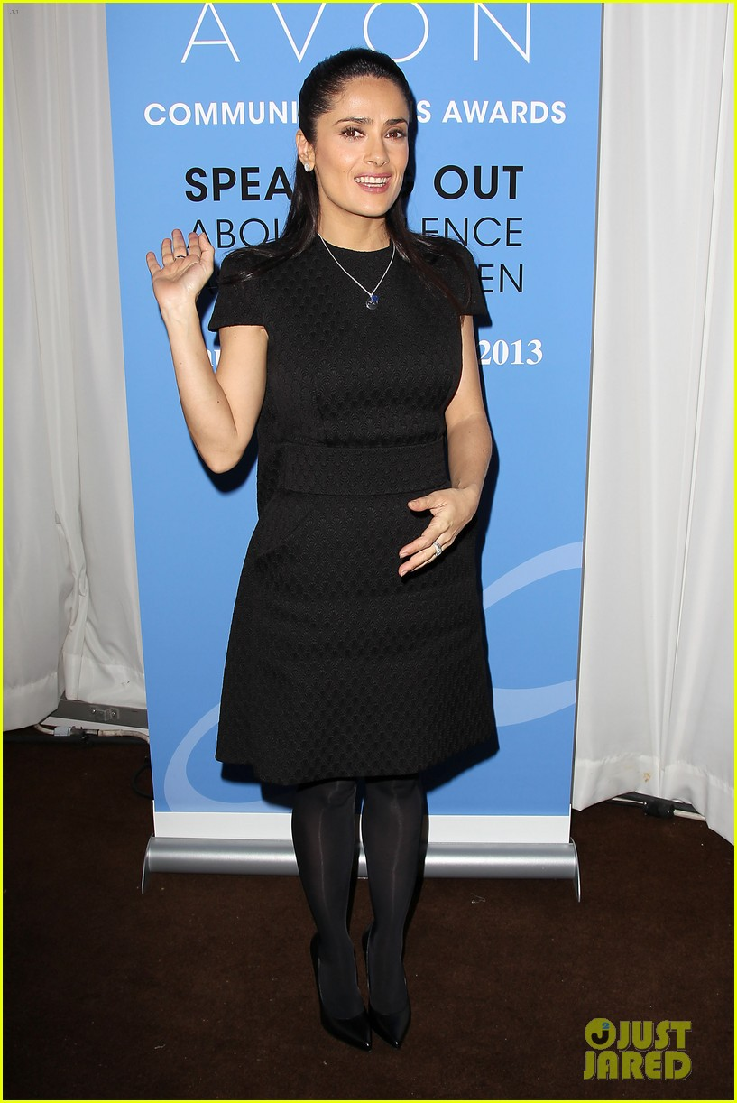 salma hayek avon communication awards 2013 11
