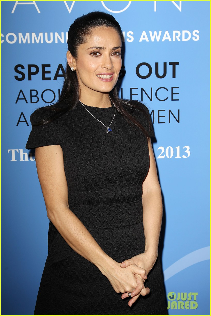 salma hayek avon communication awards 2013 242826932