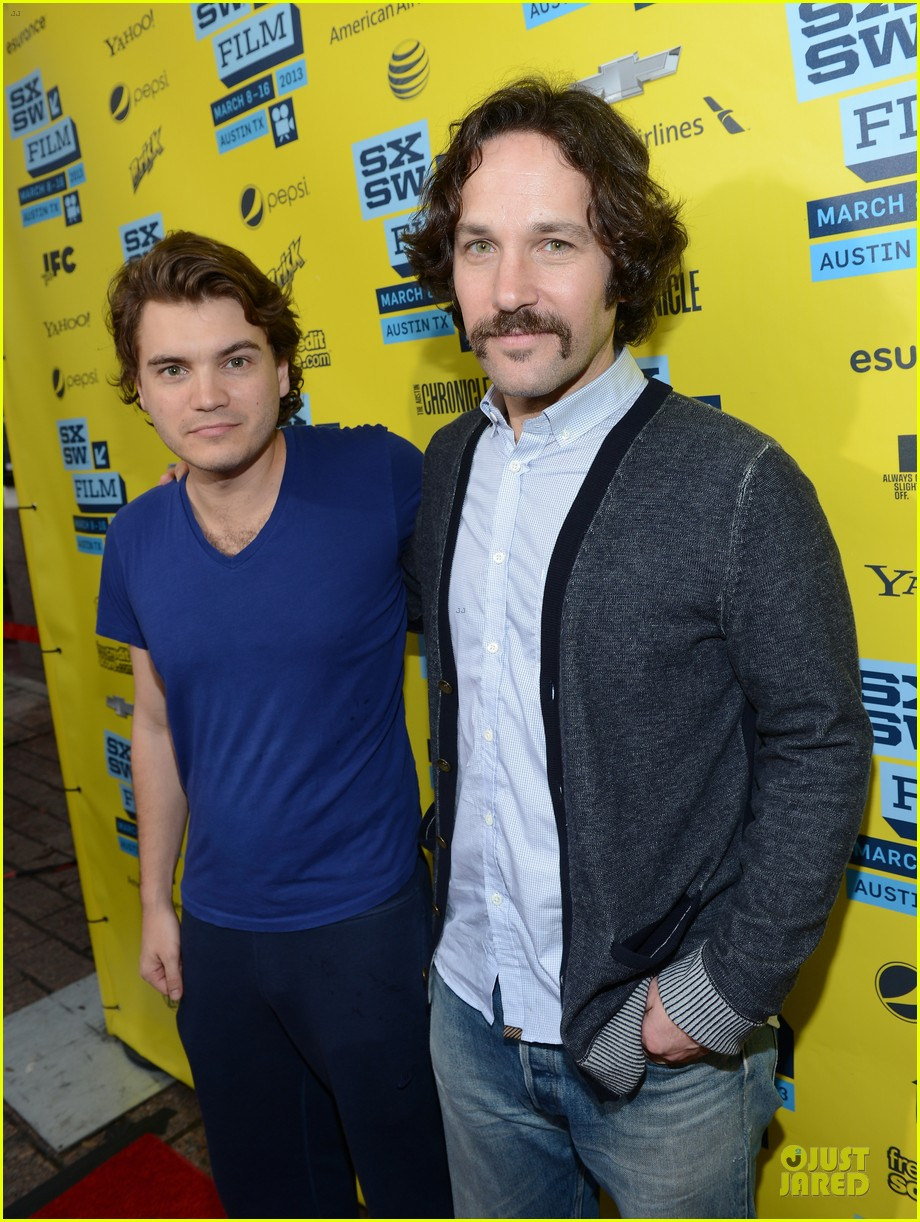 emile hirsch paul rudd prince avalanche sxsw screening 032827970