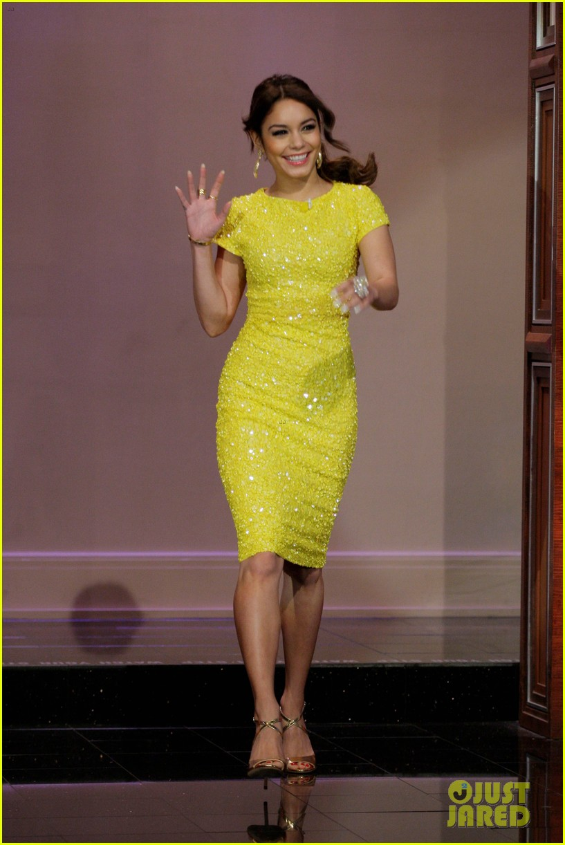 vanessa hudgens tonight show with jay leno appearance 01