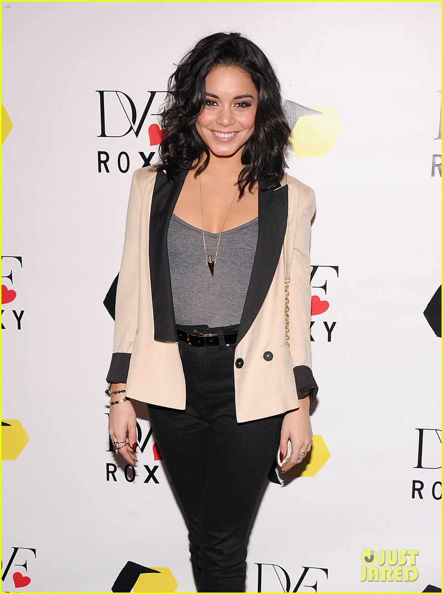 vanessa hudgens dvf loves roxy launch event 11