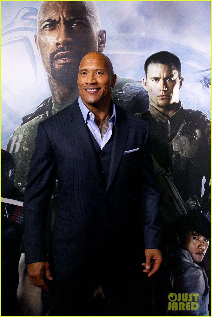 dwayne johnson g i joe 2 retaliation australian premiere 09