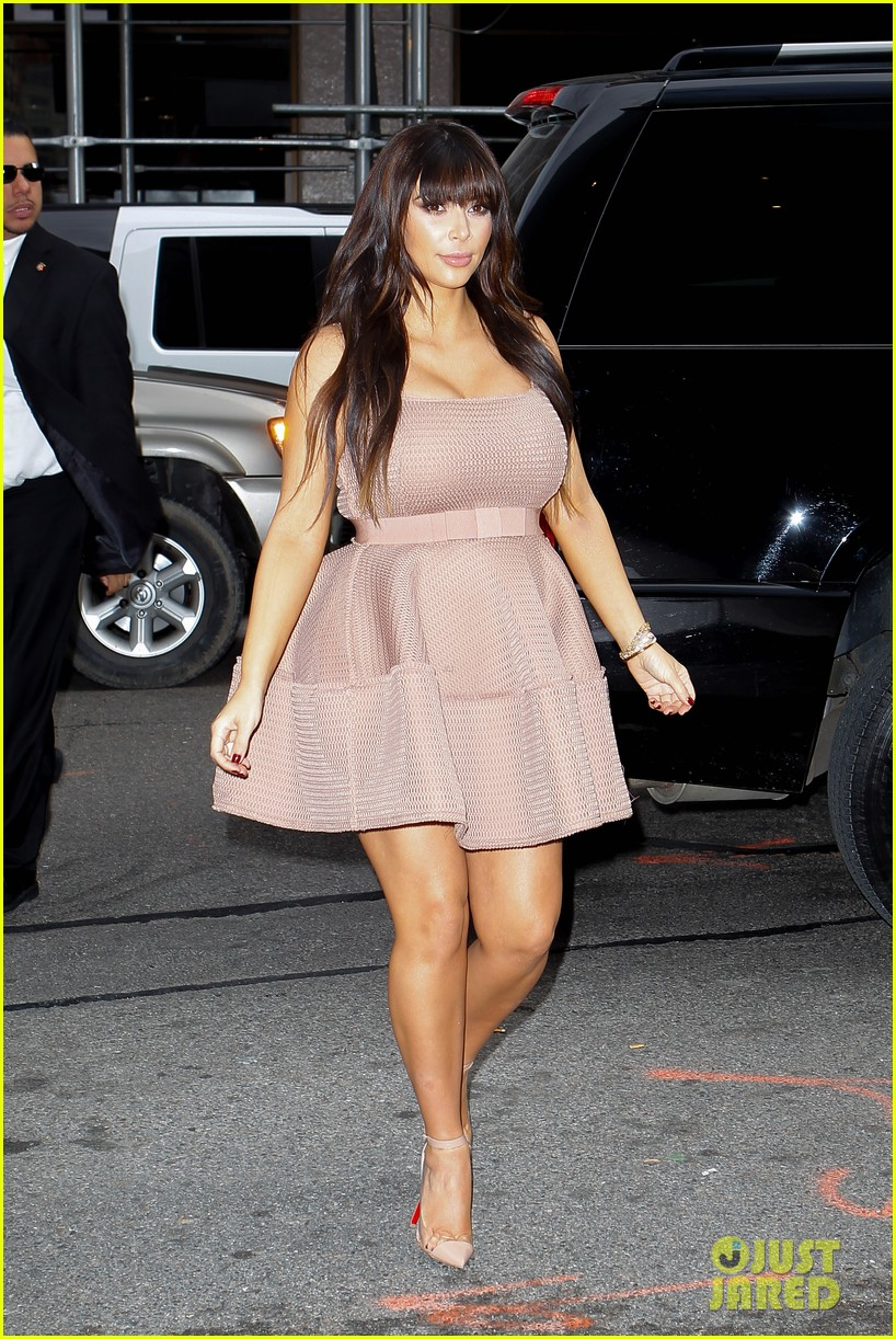 kim kardashian on her pregnancy i feel really good 05