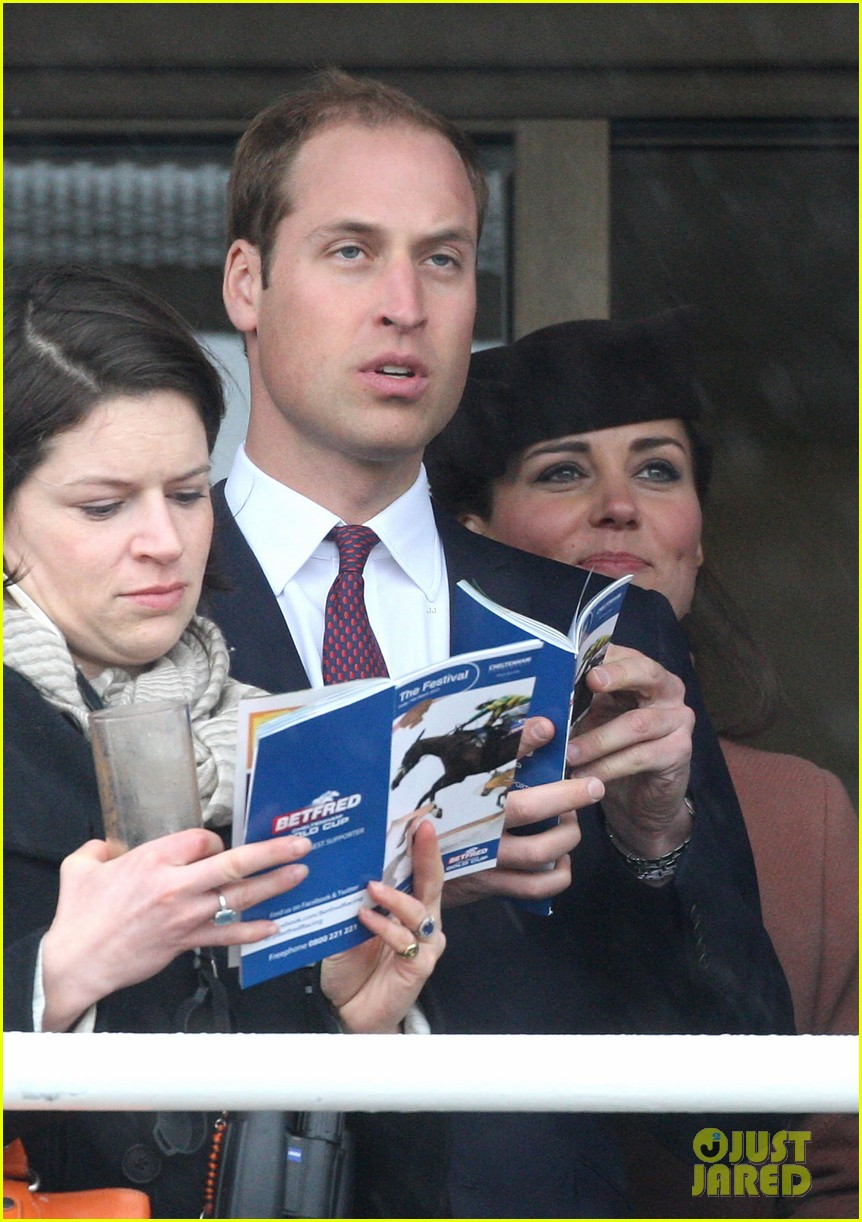 kate middleton pregnant cheltenham visit with prince william092831106
