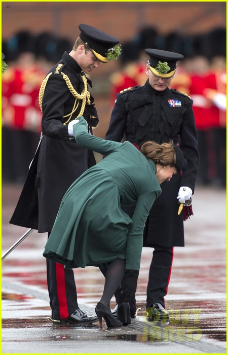 kate middleton pregnant st patricks day with prince william 03