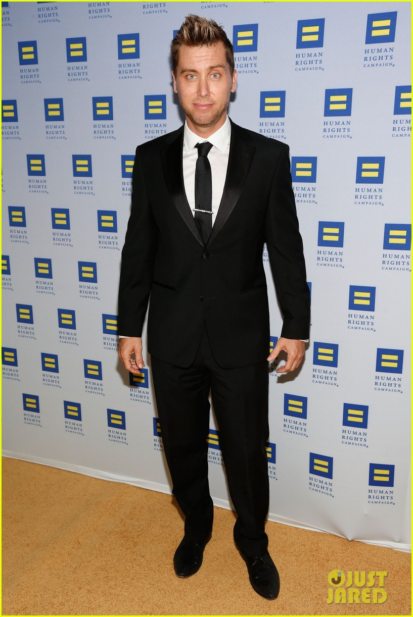 kerry washington lance bass human rights campaign gala 2013 03