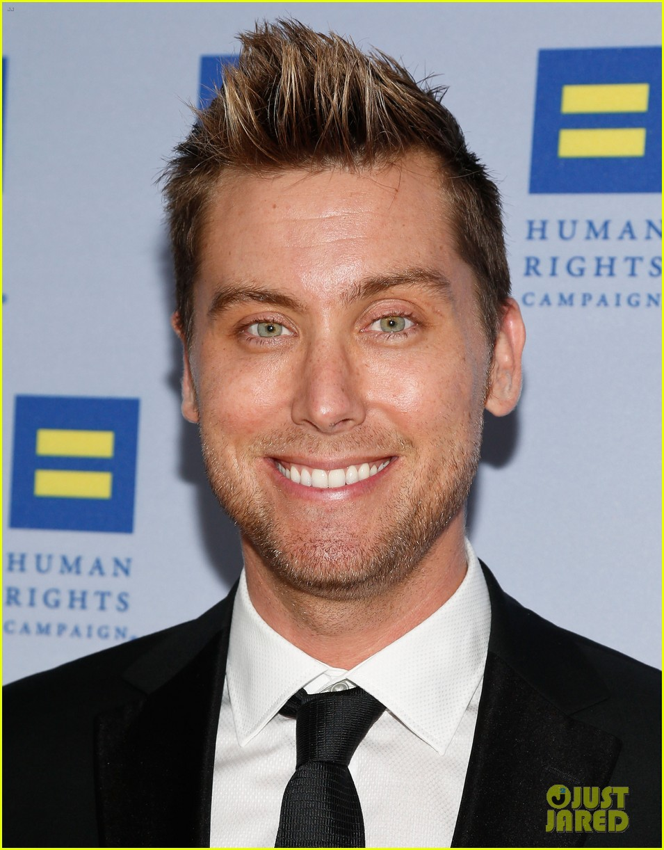 kerry washington lance bass human rights campaign gala 2013 04