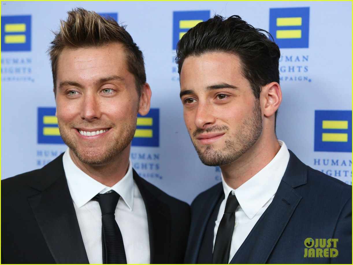 kerry washington lance bass human rights campaign gala 2013 08
