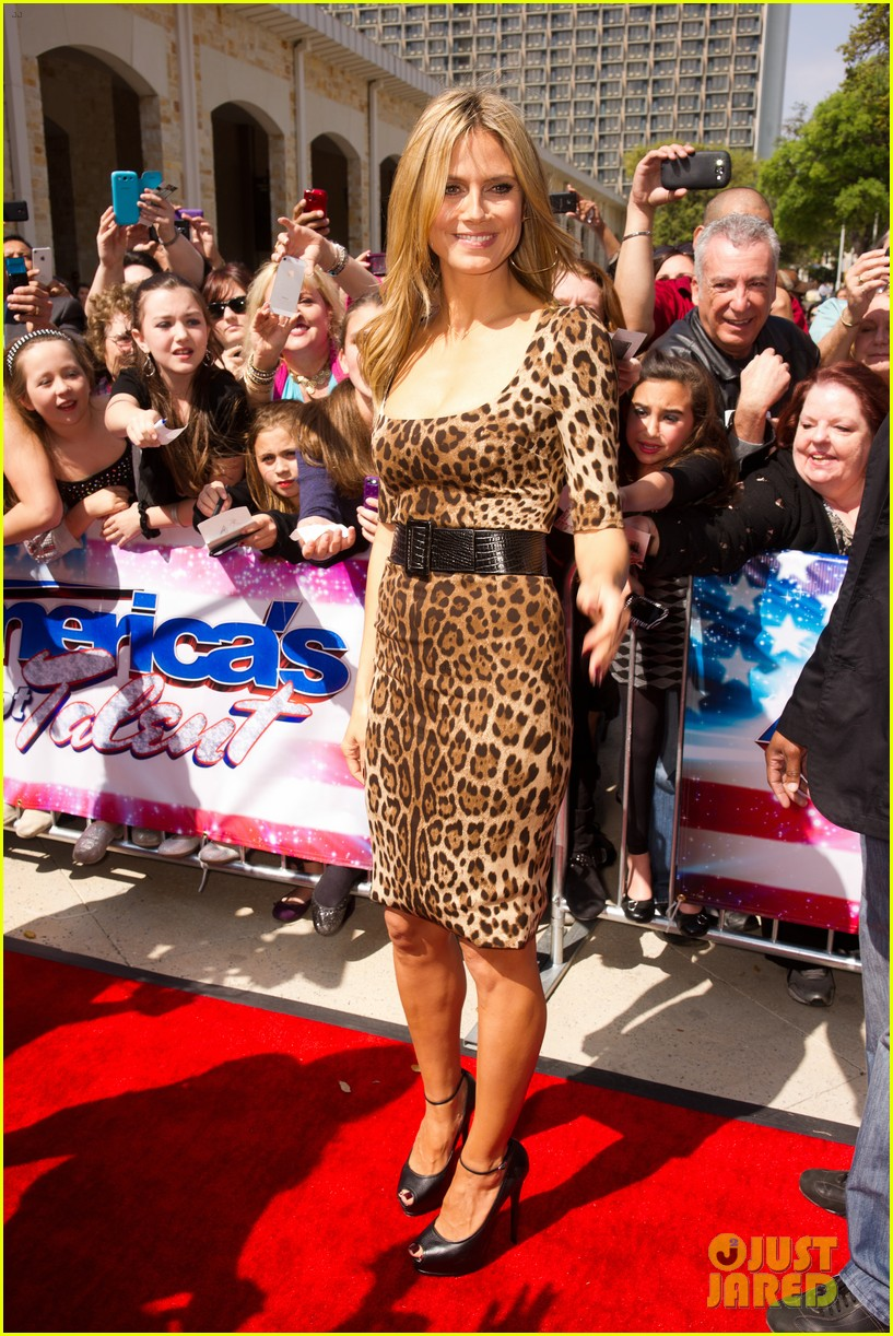 heidi klum mel b americas got talent texas auditions 20