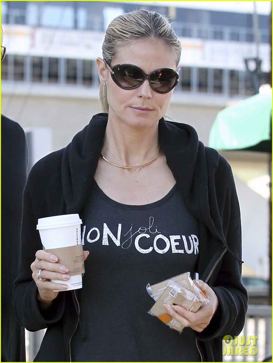 heidi klum martin kirsten beach day with the kids 132828732