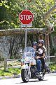 heidi klum martin kirsten brentwood motorcycle ride 29