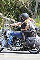 heidi klum martin kirsten brentwood motorcycle ride 30