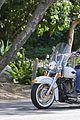 heidi klum martin kirsten brentwood motorcycle ride 34