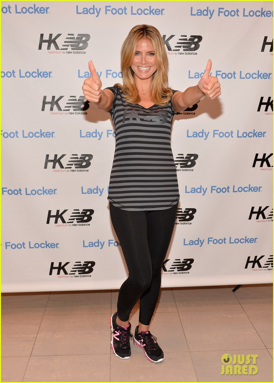 heidi klum new balance collection launch 062831033