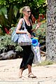 heidi klum martin kirsten beach picnic with the kids 17