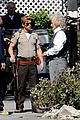 ryan kwanten true blood filming with rutger hauer 01
