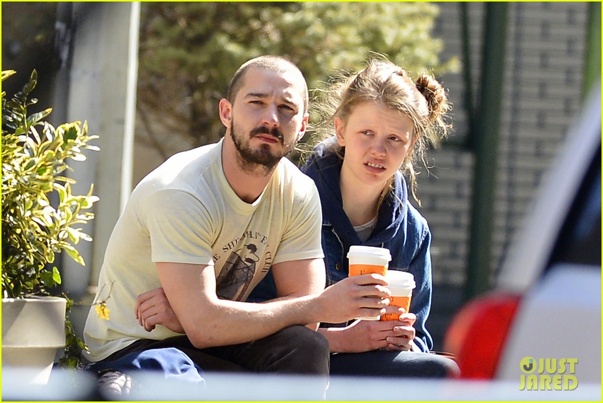 shia labeouf mia goth new york twosome 01