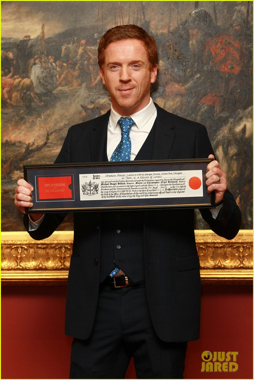 damian lewis freedom of the city of london award recipient 062833476