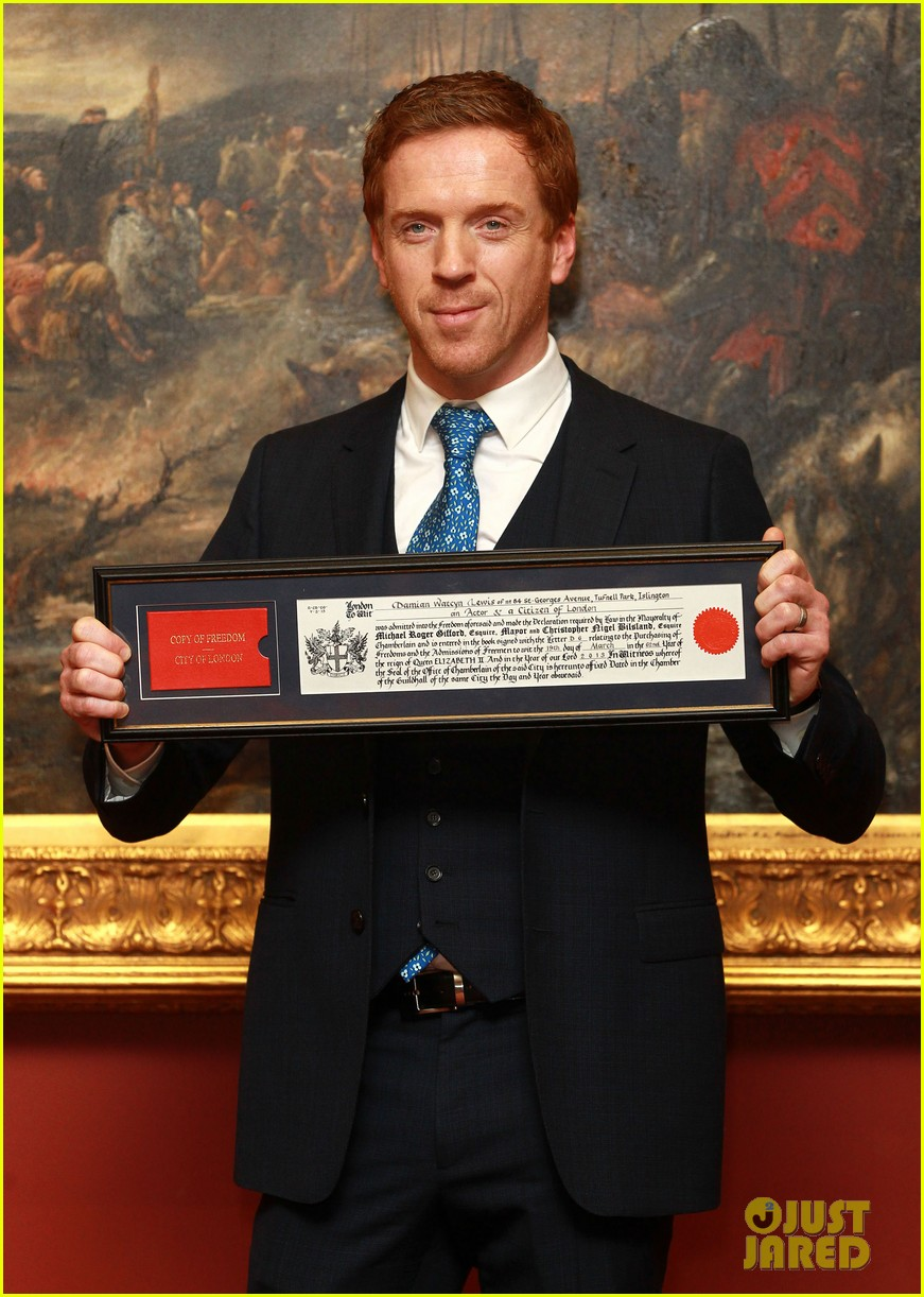 damian lewis freedom of the city of london award recipient 07