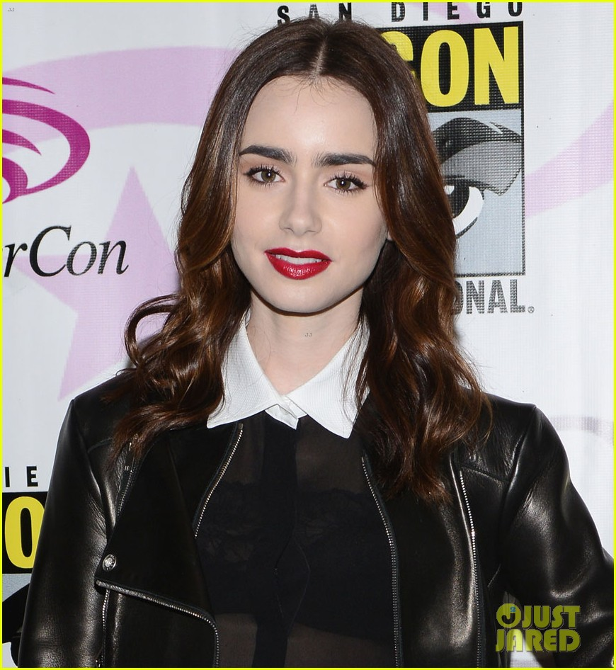 lily collins mortal instruments wondercon panel 032841046
