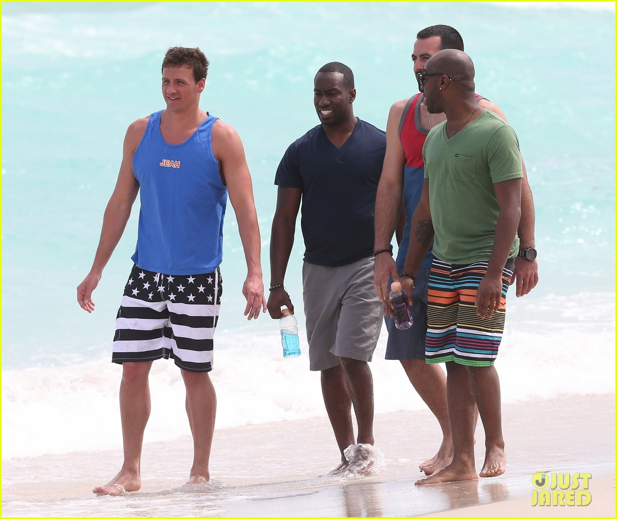 ryan lochte what would ryan lochte do beach filming 282833911