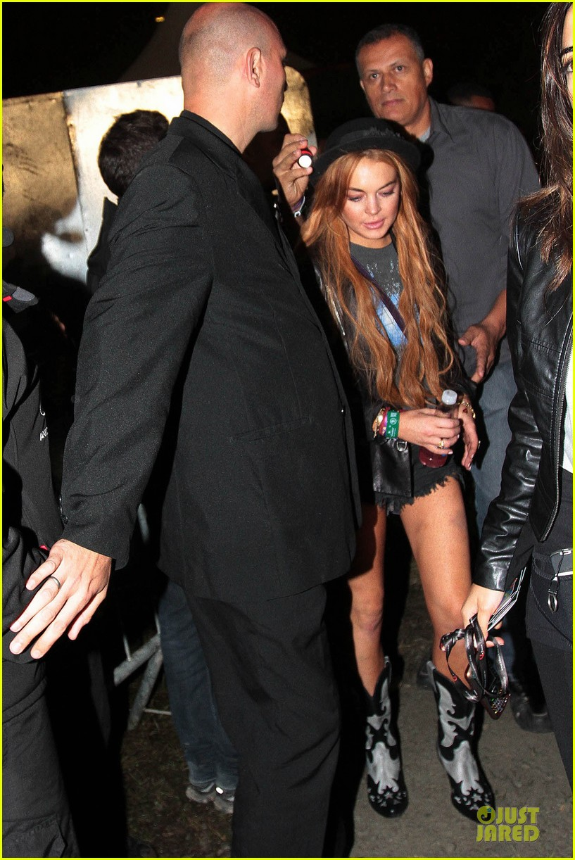 lindsay lohan late show with david letteraman in april 01